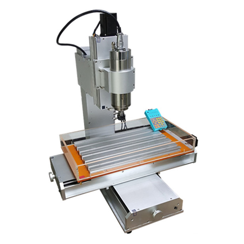 3 Axis CNC 3040 Pillar Type Engraving Machine 1500W / 2200W Column Type Lathe Woodworking CNC Router eur free tax cnc router 3040 5 axis wood engraving machine cnc lathe 3040 cnc drilling machine