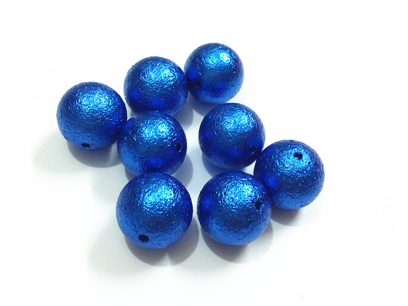 (Choose Size First ) 12mm/16mm/20mm  Royalblue  Wrinkle Pearl Beads For Fashion Jewelry Making (Choose Size First ) 12mm/16mm/20mm  Royalblue  Wrinkle Pearl Beads For Fashion Jewelry Making