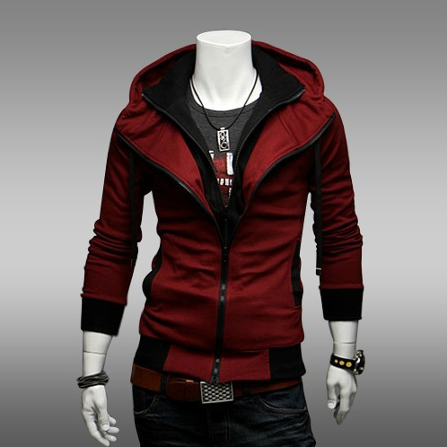Compare Prices on Red Zip up Hoodie Mens- Online Shopping/Buy Low ...