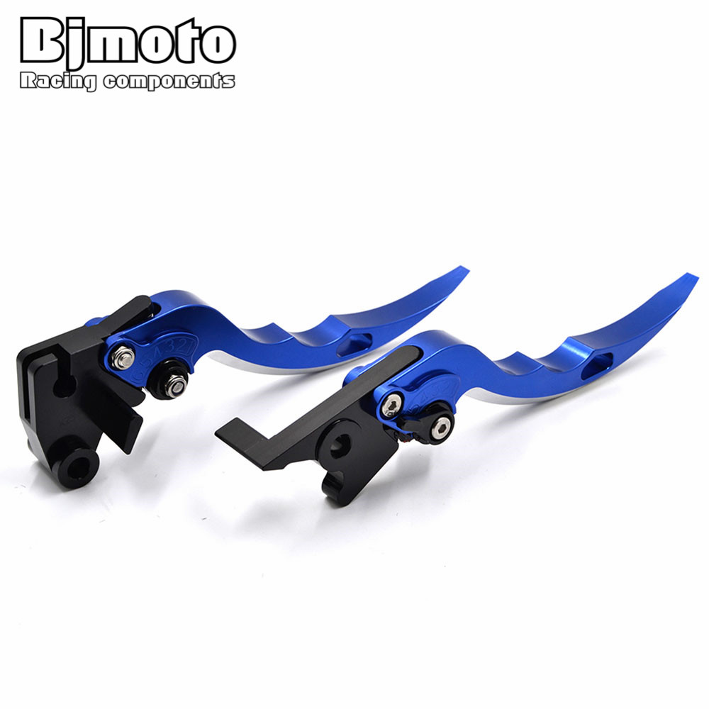 BJMOTO Motorcycle Blade Brake Clutch Levers Motorbikes Brakes Lever For Yamaha MT-25/MT-03 MT-07/FZ-07 MT-09/FZ09 R3 R25 R1 R6 cnc short adjustable brake clutch lever for yamaha fz07 fz 07 mt 07 mt07 fz 09 fz09 mt 09 mt09 fj09 fj 09 tracer