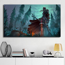 World Of Warcrafts Sylvanas HD Wall Art Canvas Poster And Print Painting Decorative Picture For Modern Bedroom Home Decor