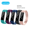 Lemse ID115 Sports Smart band call message reminder Steps calories activities Fitness Tracker Wristband Bracelet