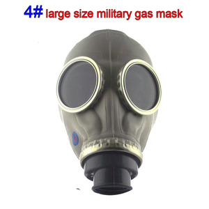Image 2 - All rubber respirator gas mask classic style Military Edition chemical gas mask Various models Spray paint Toxic gas gas mask