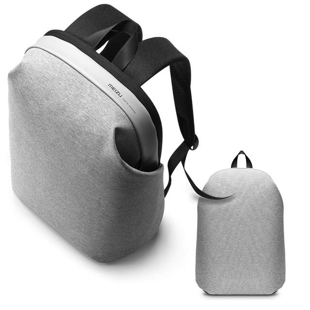 Meizu originais mochila mulheres mochilas estilo preppy estudantes sacos dos homens de negócios clássico grande capacidade de bolsa para laptop