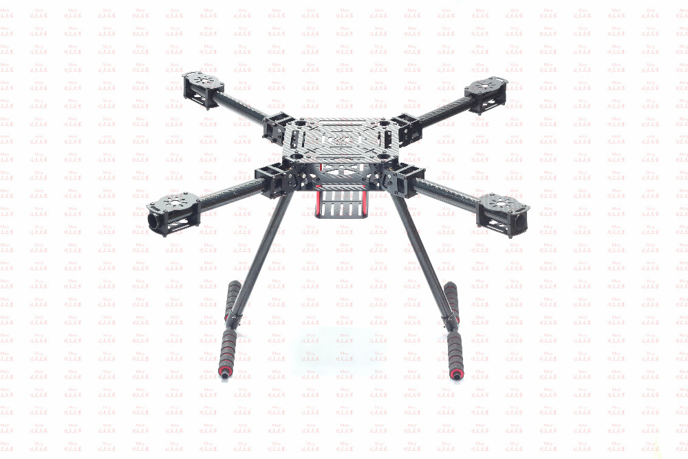 Lji ZD550 550mm 4-Axis Carbon Fiber Quadcopter Frame Umbrella Folding with Landing Gear for FPV atg tt x4 12 reptile 4 axis glass carbon folding frame kit with landing gear black