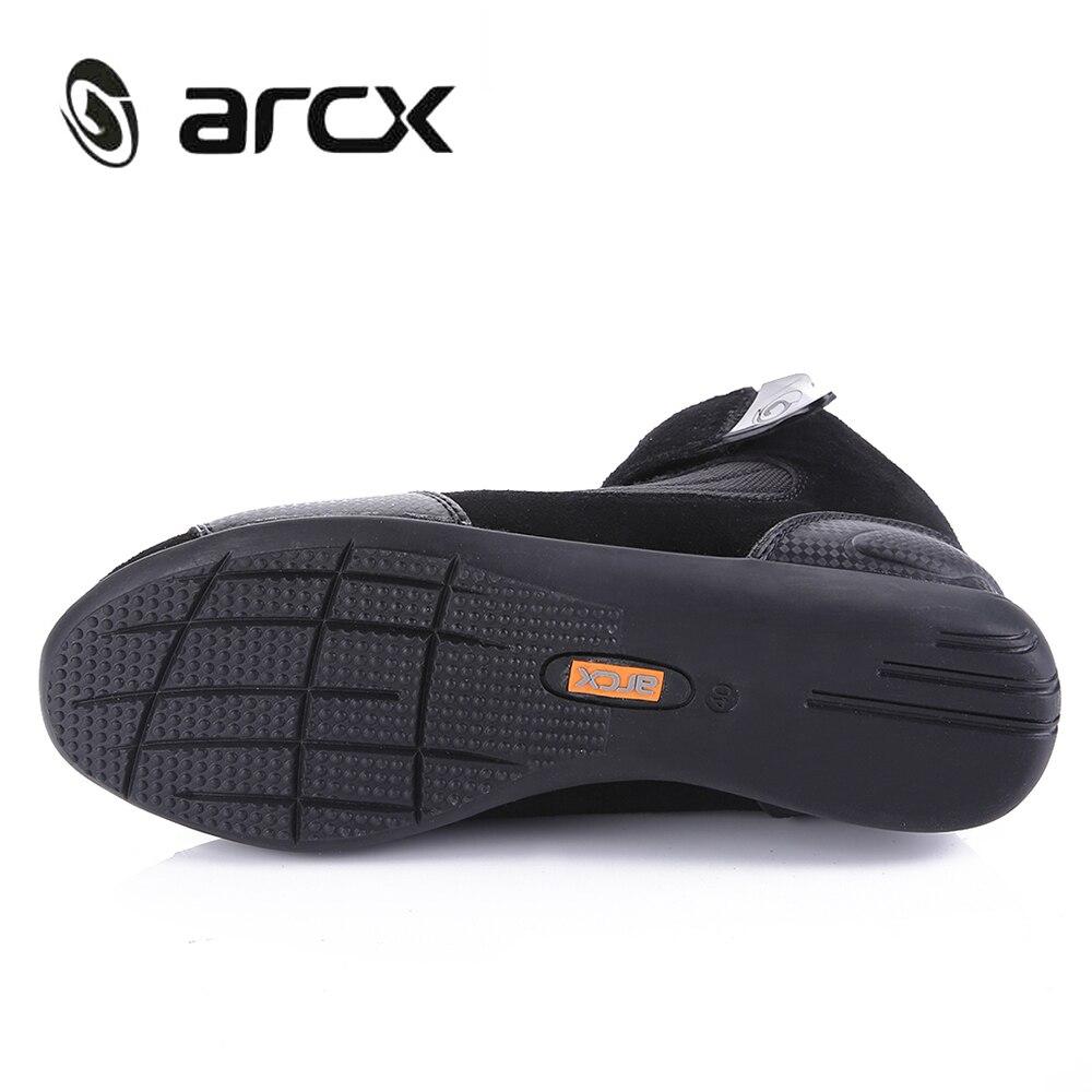 Botas de Moto ARCX para hombre, botas de Moto, zapatos de Moto transpirables de verano - 3