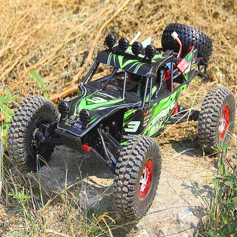 Feiyue FY03 Eagle-3 1/12 2.4G 4WD Desert Off-Road RC Car Charge Protection 1500mAh 4Channels Desert Off-Road RC Car for Kids feiyue fy03 eagle 3 1 12 off road truck 2 4g 4wd