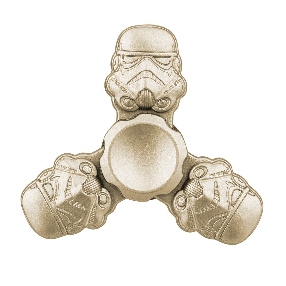 Leisure Puzzle Entertainment Fingertips Stress Reliever Hand Spinner Tri Fidget Ball Desk Toy EDC Stocking Stuffer