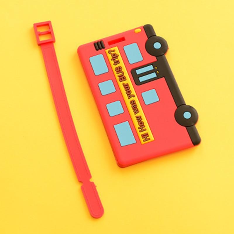 IUX Novi Gumeni Funky Putovanja Prtljaga Naljepnice Trake kofer Ime - Putni pribor - Foto 4