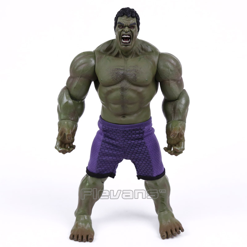 Marvel Super Hero Series Hulk PVC Action Figure Collectible Model Toy 26cm (no retail box)  funko pop marvel the hulk no 08 red hulk no 31 iron man vinly bobble head pvc action figure collectible model toy gift for kids