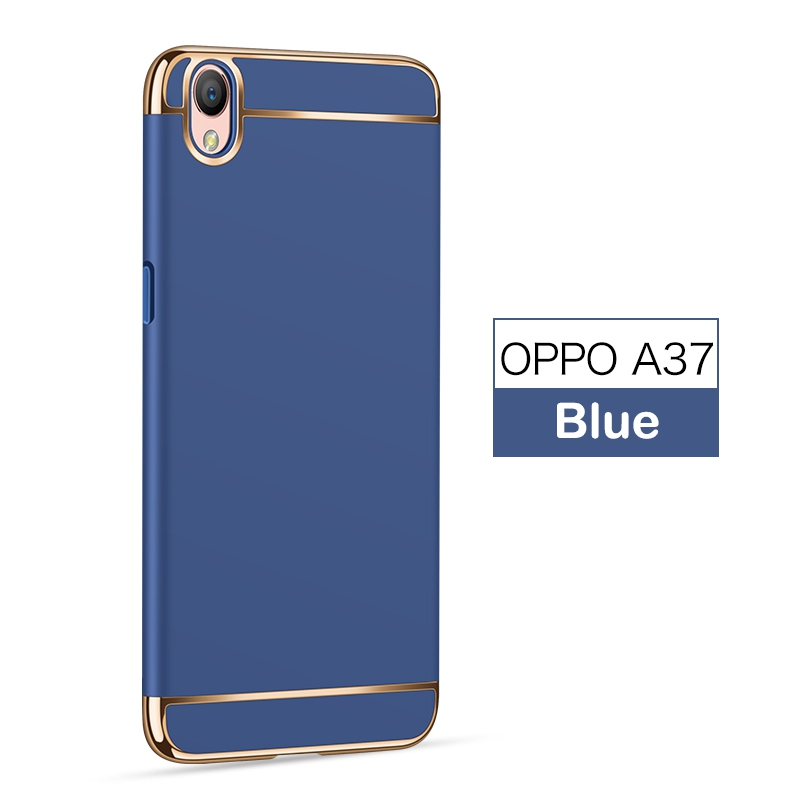 meet fb295 03697 US $2.99 25% OFF|3 in 1 Hard PC Back Cover Case For OPPO A37 Case 360  Degree Protection Anti knock Ultra Thin Slim Case For OPPO A 37 Case  Luxury-in ...