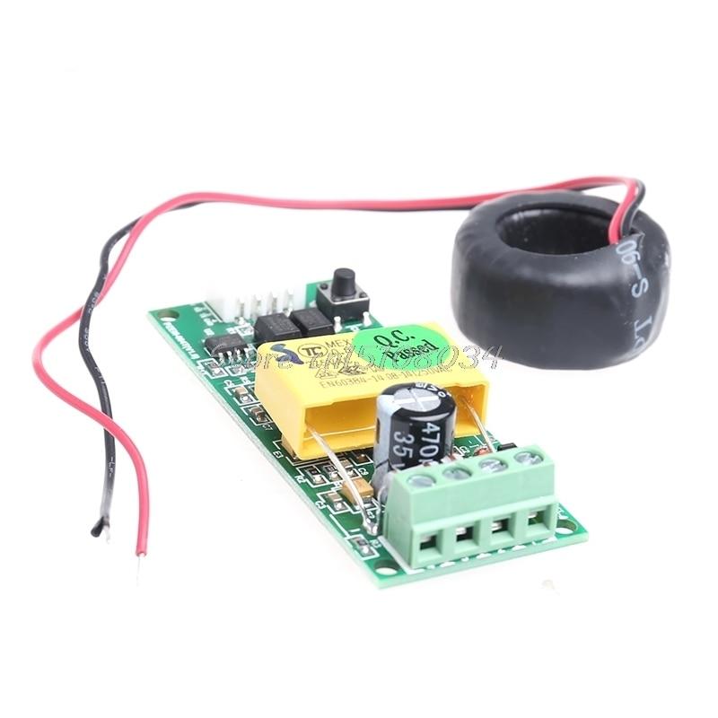 AC Digital Multifunction Meter Watt Volt Power Amp Current Test Module PZEM-004T #S018Y# High Quality comair зажимы с зубцами пластик 12 шт сиреневые 12 шт