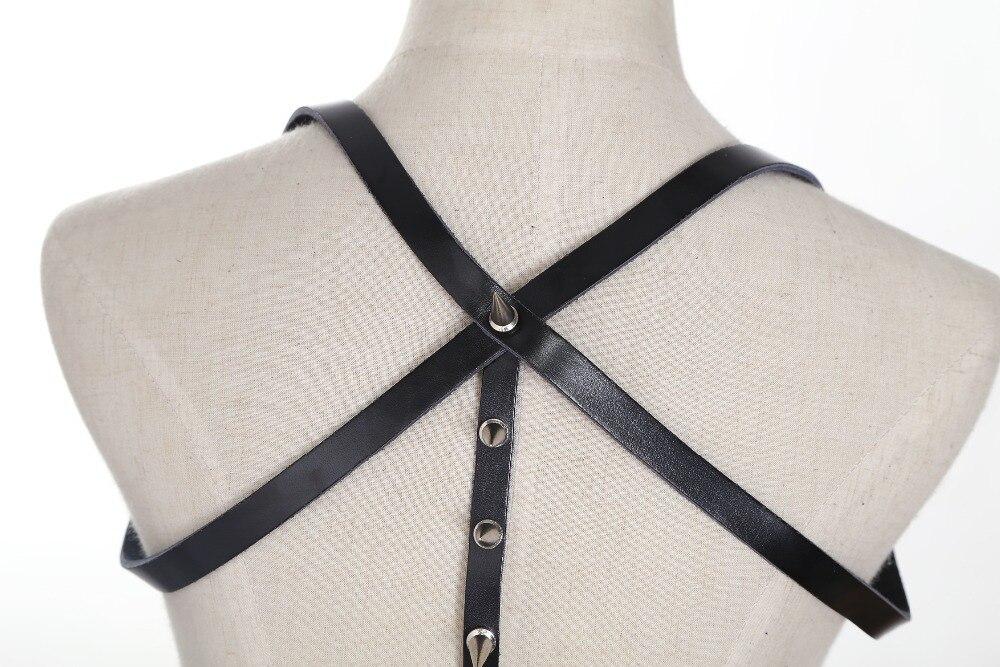 Проводов. Ribey от шеи ждать сексуальный подвязка кожаный жгут отлично подходит для ночного клуба Девушки Подарки