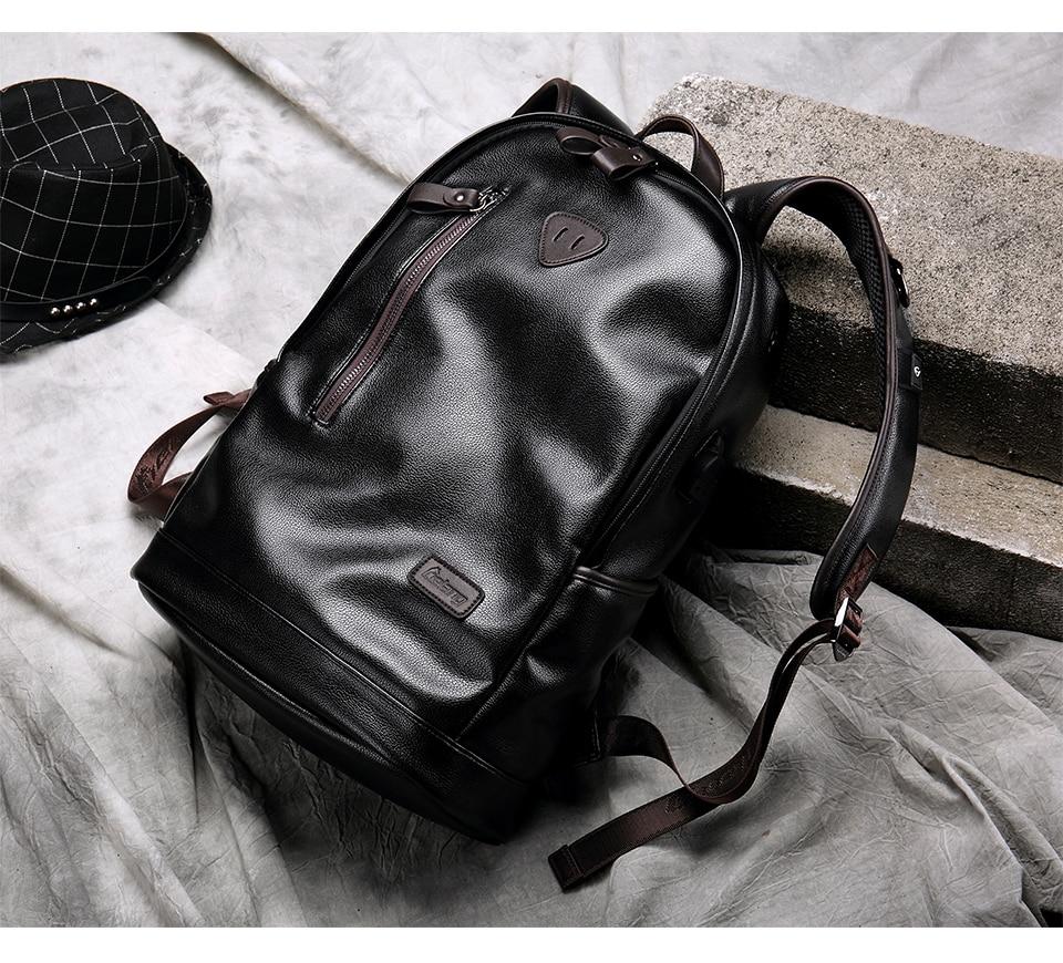 Jorgeolea masculino saco de viagem de couro