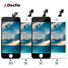 For iPhone 5 5S 5C SE 5G LCD Display Touch Screen Digitizer Assembly Replacement AAA Quality Black or White