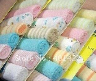 $15 off per $150 order wholesale free shipping 40pcs/lot Gerber baby's towels/baby bibs/infantfeeding towel santa feeding towels