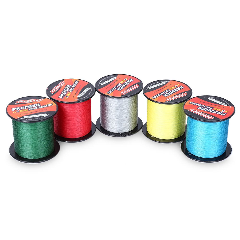Hot sale 5 colors 300m fishing line angling accessories 4 for Colored fishing line