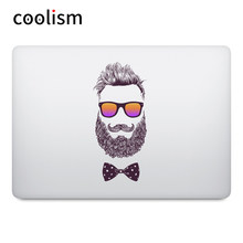Moda Tio Barba Laptop Adesivo para MacBook Sticker Air Pro Retina Toque Bar 11 12 13 15 polegada Mac Superfície livro de Arte Decalque Pele(China)
