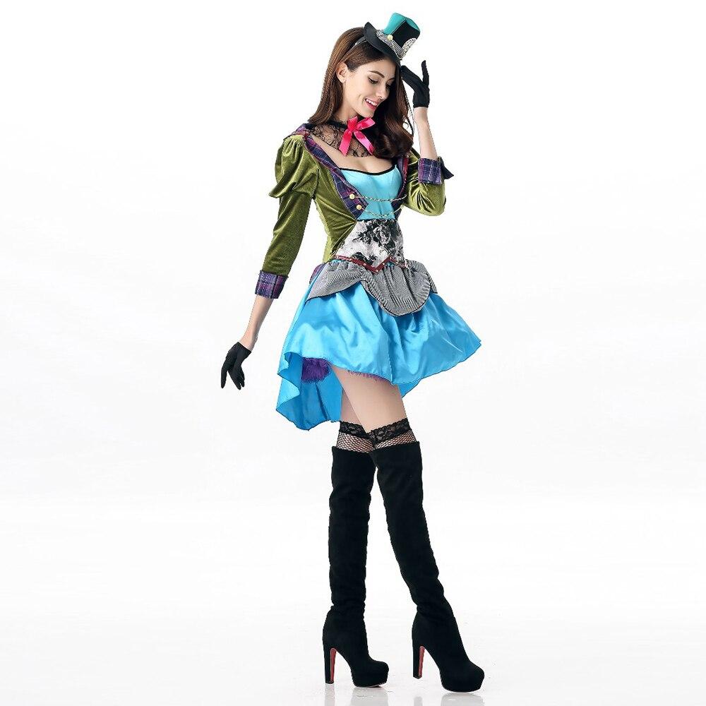 VASHEJIANG Neue Alice Im Wunderland Mad Hatter Rolle Spielen Kostüm ...