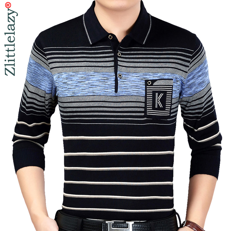 2019 Brand Casual Spring Striped Long