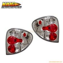 Для 01-03 Dodge Caravan задние фонари хромированные лампы пары США Внутренняя