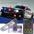 2x2/led Скорой Помощи LED Полиции света Тележки Автомобиля Мотоцикл Свет Мигает Пожарные Огни DC 12 В led сигнальная лампа