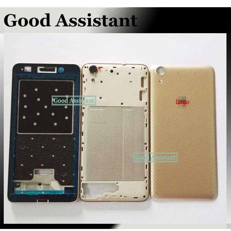 Housing-Case Back-Cover Frame Huawei Honor Door Front LCD for Honor/Y6ii/Y6-ii/.. Faceplate