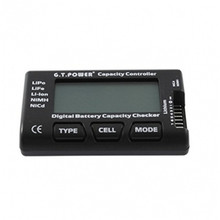 GT Power Lipo Battery Capacity Check Tester With Balance Function For LiPo LiFe Li-ion NiMH Nicd For RC copter Airplane Models(China (Mainland))