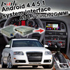Android GPS navigation box for Audi A6 2G MMI system 2005-2009 video interface box mirror link 6.5 7 inches touch control