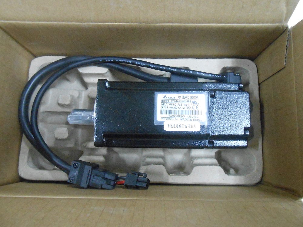 все цены на 60mm Delta Servo Motor 400W ECMA-C20604PS AC 220V 3000rpm with Keyway New онлайн