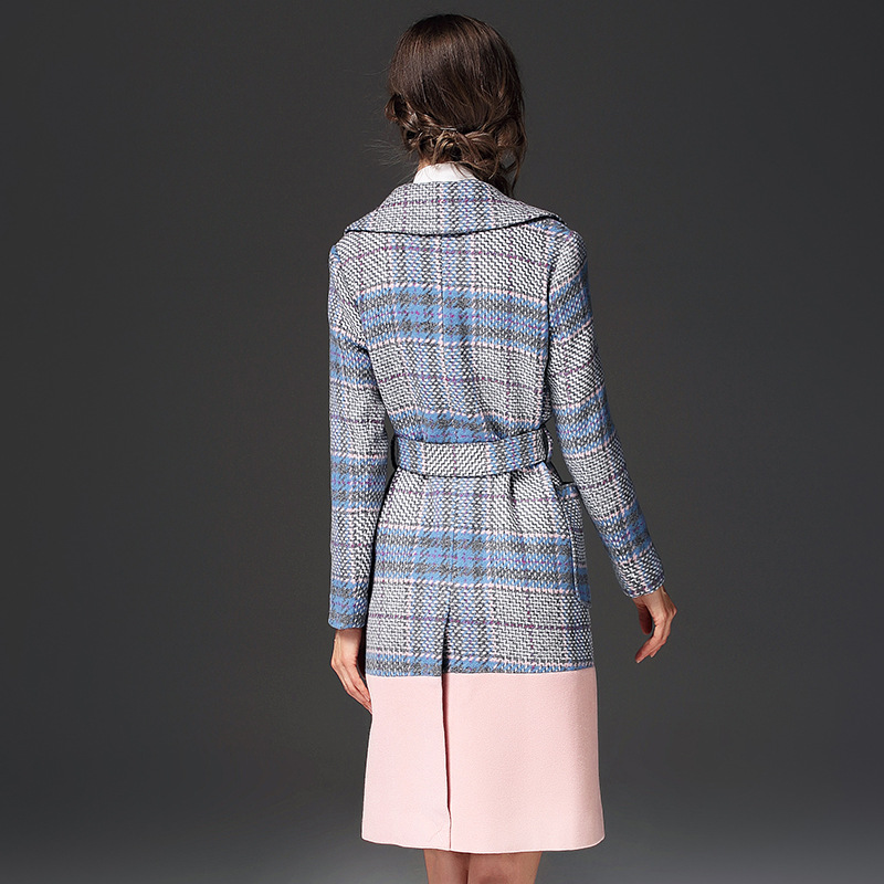 New Vintage Long Chaud Vestes Élégant Automne Multi Manteau Laine Femelle Hiver De Femmes 2017 TqId5T