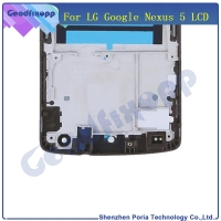 For LG Google Nexus 5 D820 D821 LCD Display Touch Screen Digitizer Assembly With Frame Replacement