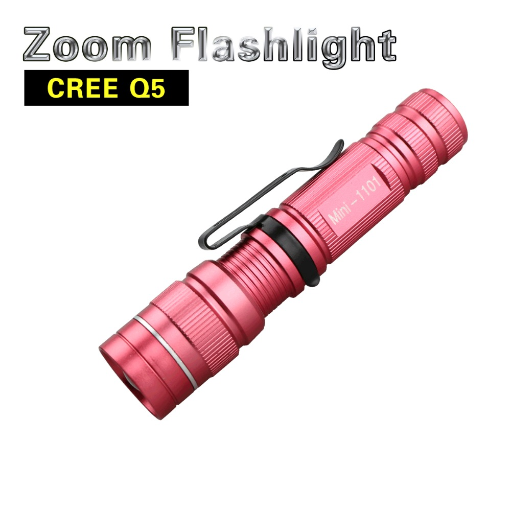 Smart Cree Led Flashlight Q5 Energy Saving Flashlights Linternas Lampe Torche 14500 Aa Led Fanarik For Hiking Or Camping Waterproof Shock-Resistant And Antimagnetic