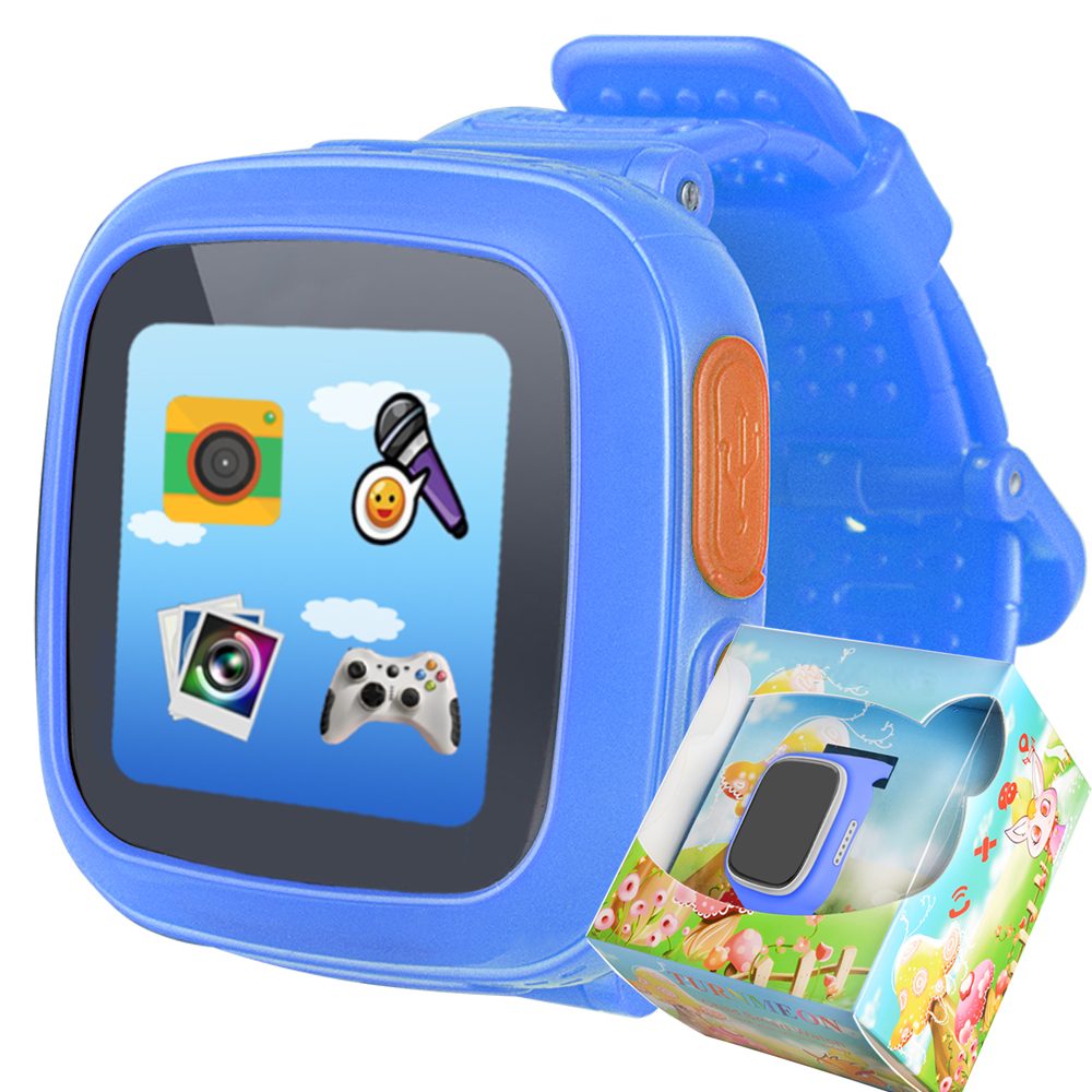 TURNMEON Touch Screen Game font b Smart b font font b Watch b font for Childred