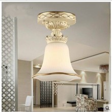 LED European corridor absorb dome light Circular lamp sitting room bedroom balcony porch corridor study hutch lamps юбка hutch
