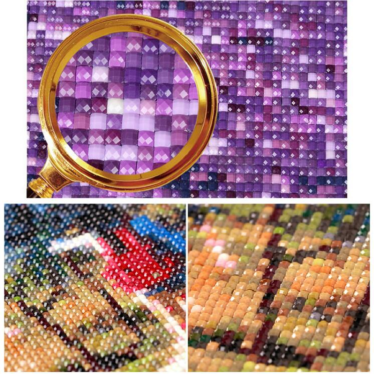 Dream Sunset Horse Diamond Painting Cross Stitch Mosaic Square Full Diamond Embroidery for Home Decoration Decor Mosaic Art Gift