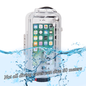 Orsda Submersible shell 60 meters /195ft IPX8 Deep-sea Diving Underwater photography for phone6 phone6 plus phone7 phone7 plus