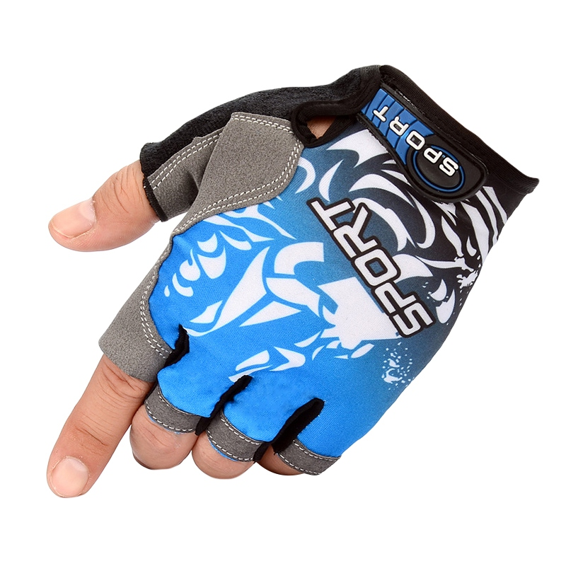 Half Finger Cycling Gloves Anti Slip Gel Pad Breathable Motorcycle MTB Road Bike Gloves Men Women Sports Fishing Gloves image