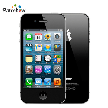 Apple iPhone 4S Original Factory Unlocked 3.5 Screen 16GB / 32GB Storage Dual Core Cell Phones