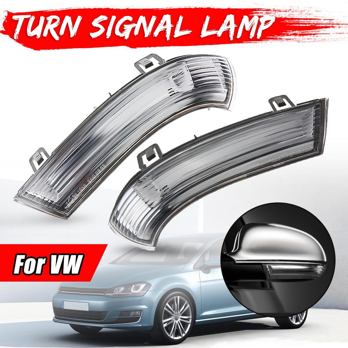 Car styling izquierda y derecha Indicador de espejo lateral lámpara de señal de giro para VW/MK5/Golf/Passat/ jetta/Sharan 1K0949101 1K0949102