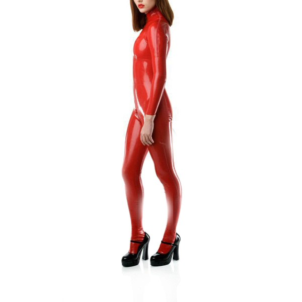 Sexy-Unisex-Shoulder-Zipped-Entry-Latex-Catsuit-Rubber-Bodysuits-Crotch-Zip-With-Socks-High-Quality-Latex-Rubber-Zentai-1