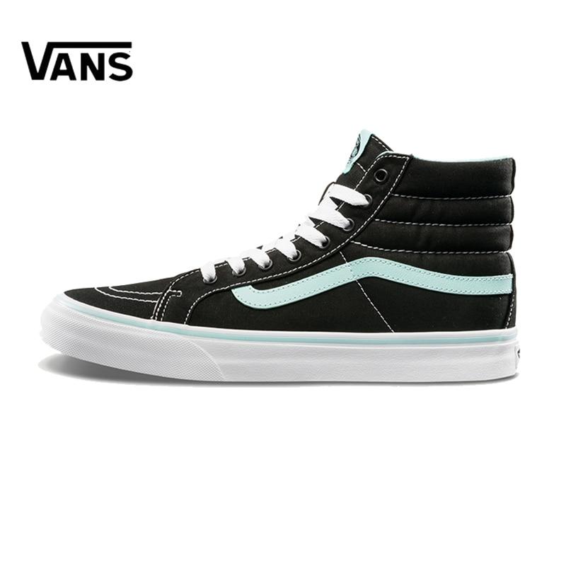 Original New Arrival Vans Men's & Women's Classic Sk8-Hi Skateboarding Shoes Sneakers Canvas Comfortable VN00018IGZR