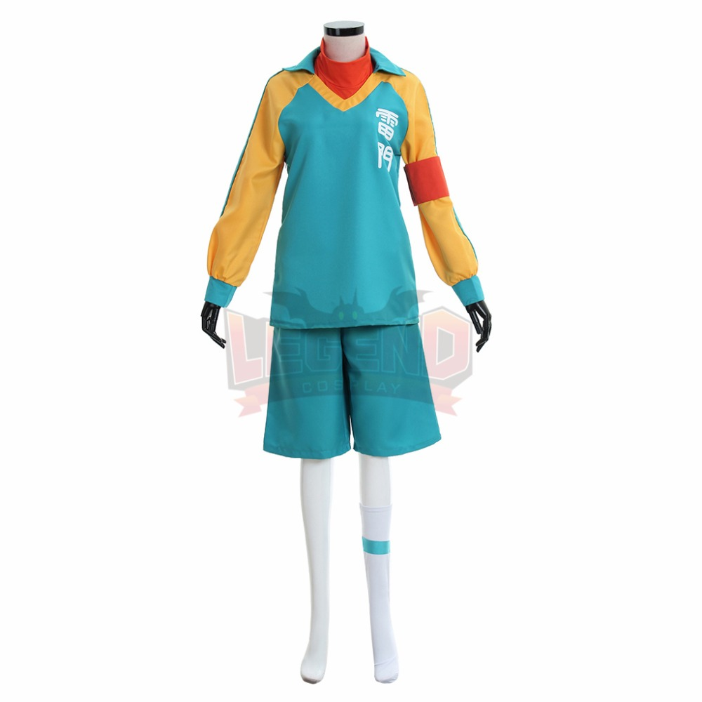 Mamoru Cosplay Inazuma Eleven Anime Japanese Team Jersey Halloween Cosplay Costume