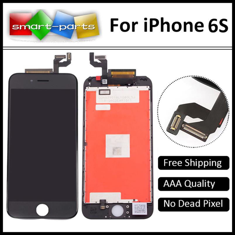 Prix pour 4.7 pouce Pantalla D'affichage Pour Apple Iphone 6s LCD Écran Assemblée Réparer Testé avant l'expédition et 100% fonctionnant bien