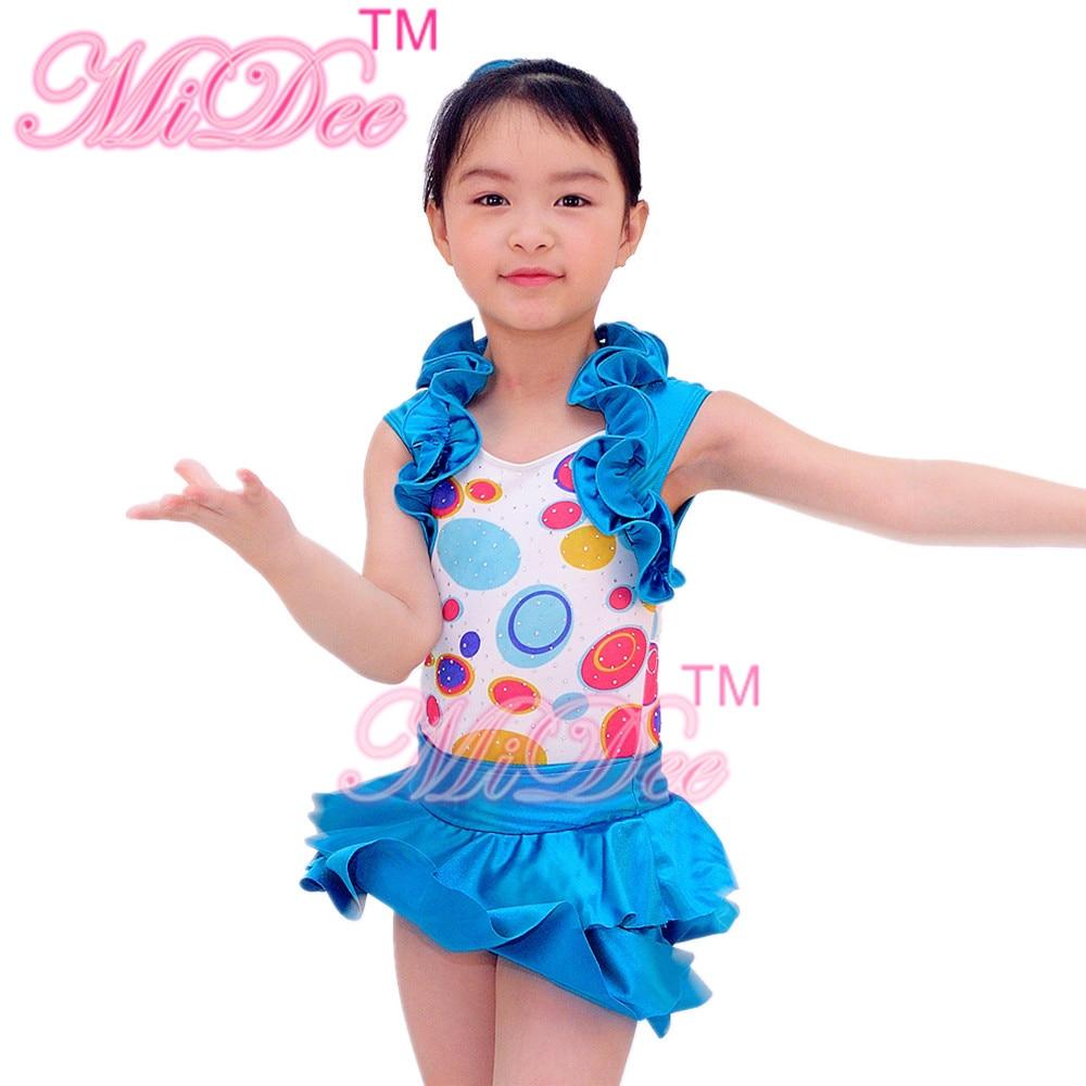 Նոր ոճով մանկական բալետային պարերի հագուստներ Աղջիկներ Unitard մարմնամարզություն բալետային բոդիասիտ ջազ պարային տարազներ