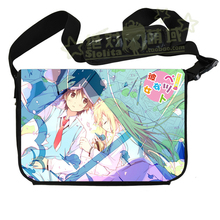 New Arrival Sakurasou no Pet na Kanojo Anime Messenger Shoulder Crossbody School Bag Computer Bags Free Shipping