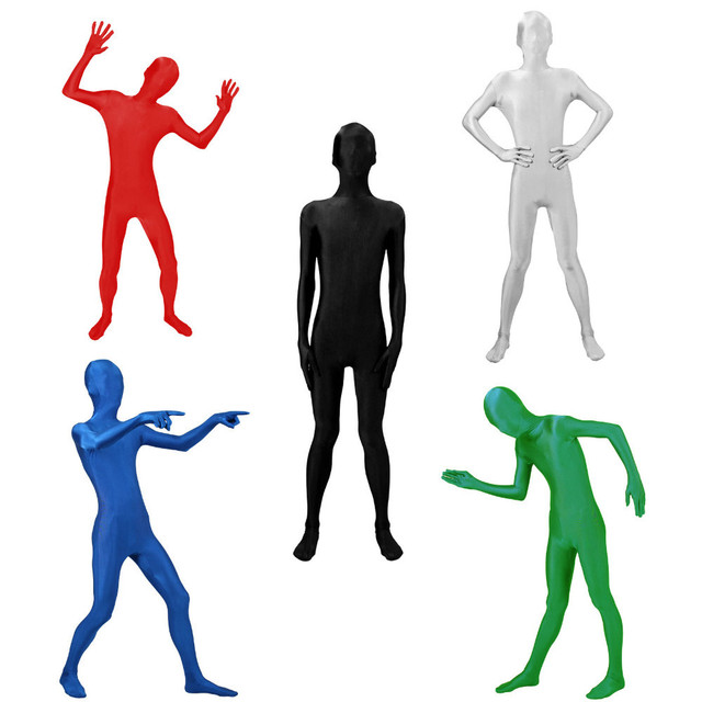 Free Shipping Full Body Lycra Spandex Suits Costume Halloween Party S-XL