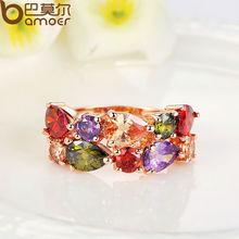 Rose Gold Color Mona Lisa Ring for Female