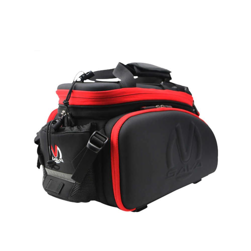 Сумка для велосипедного багажника MTB bike pannier сумка для горного велосипеда упаковка pannier багаж 37Л сумка для велосипедного багажника Водонепроницаемая велосипедная сумка