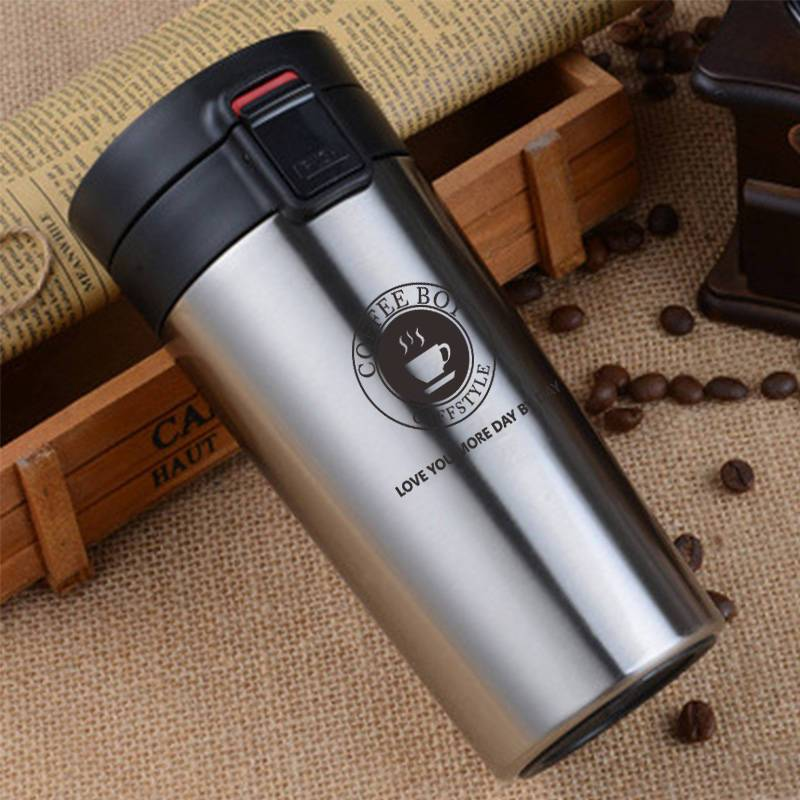 Coffee Boy Coffee Thermos Bottle 304 Stainless Steel Vacuum Flasks For Tea Portable Thermo Mug thermocup